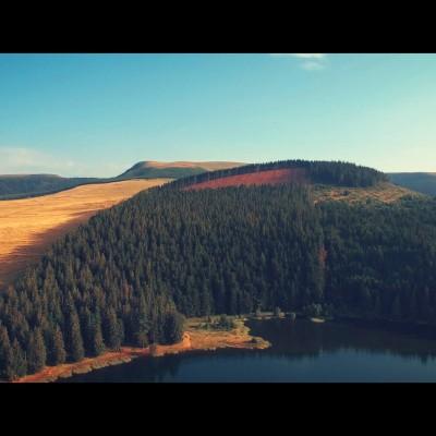 Cinemaerien prise de vue aérienne - photographie aérienne